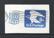 Scott # U566, used, VF, 8¢ + 2¢ American Eagle, 1973, Duplex Cancel