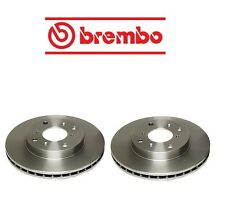Fits Honda Accord 98-02 Set Of 2 Front Disc Brake Rotor Brembo 45251S84A01