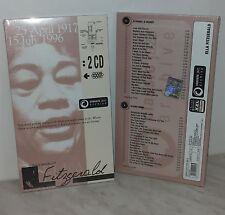 2 CD ELLA FITZGERALD - 25 APRIL 1917 -  15 JULY 1996 - NUOVO - NEW