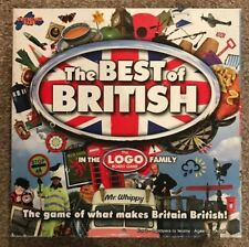 The Best Of British Logo Board Game By Drumond Park - Complete