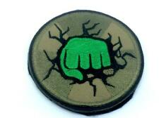 Incredible Hulk Fist Embroidered Airsoft Paintball Patch