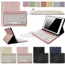"Backlit Folio Detachable Wireless Keyboard Case For iPad 3rd 2rd 4th-6th 9.7"" US"