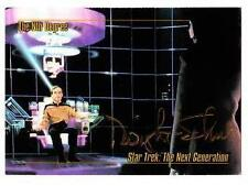STAR TREK NG Dwight Schultz / Barclay SIGNED Autograph SkyBox Card - 1993