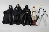 #F3~ lot 5 star wars  Obi-Wan  Darth Vader Clone Pilot TROOPER ACTION FIGURE