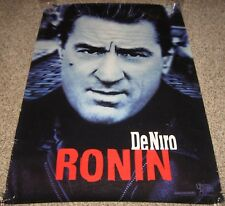Ronin Movie Poster 2 Sided Robert DeNiro Natascha McElhone Ron Jeremy