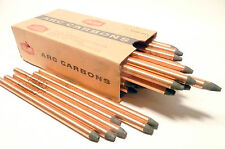 """CARBON ARC RODS for 35mm PROJECTION - 1 BOX of  11mm x 9"""" NATIONAL SPEC NEGATIVE"""