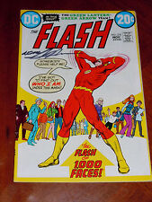 THE FLASH #218 (1972). VF- (7.5) cond.  GREEN LANTERN  Signed by NEAL ADAMS