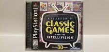 A Collection of Intellivision Classic Games for Sony Playstation (PS1)