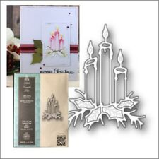 Little Candle Trio metal die - Memory Box cutting dies 99857 Christmas Holidays