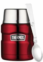 Thermos Essensbehälter King Foodcontainer 0.47l rot Isolier Behälter Thermobehäl