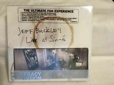 SEALED - Jeff Buckley-Live At Sin-E (Legacy Edition) (2 CD + DVD) BRAND NEW