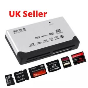 All in One memory card reader for Micro SD SDHC M2 MMC XD CF with External USB