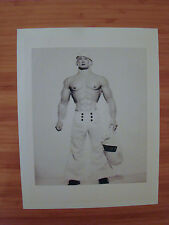 "Billy Gay Doll 16"" Latex Prototype Promotional Image from 1994 B&W Print SAILOR"