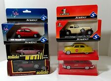 New ListingSolido Lot Of 6 Diecast Vehicles Coca Cola Coupe deVille Renault