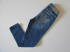 Hollister High Rise Whiskered & Faded Easy Fit Slouchy Boyfriend Jeans 0 / 24