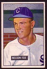 1951 BOWMAN NELSON FOX RC CARD NO:232 EXMINT PLUS