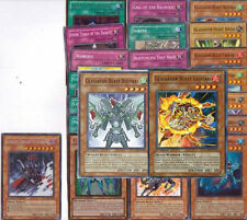 Yugioh Gladiator Beast Deck Upgrade builder lot 22 Card with Free Yugioh Figure