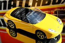 2013 Matchbox Exotic Rides Exclusive Porsche 911 Carrera Cabriolet yellow