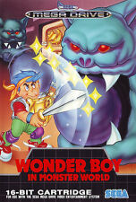 ## SEGA Mega Drive - Wonder Boy: Monster World / MD Spiel ##