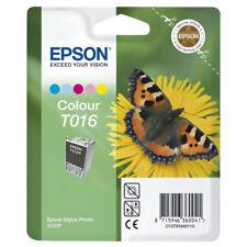 Set Originale Epson Color + BLACK t015 +t016 forepson Stylus Photo 2000 P