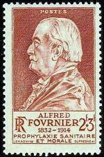"FRANCE TIMBRE STAMP N°748 ""ALFRED FOURNIER, MEDECIN"" NEUF X TB"