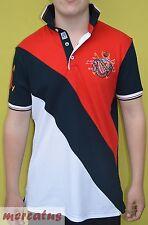 Brandneu !!! Herren Polo-Shirt von CARISMA in 2 Farbkombis CRM4014 mit Stickerei