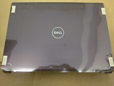 Dell Studio 1735 1736 1737 *PLUM* LCD Back Cover Top Lid W/Hinges & Cables N273C