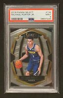 2018 Panini Select Premier Level Michael Porter Jr #134 PSA 9 Rookie RC Nuggets