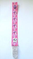 Dummy Clip (1) -  Hootabelle Hot pink (DC42)
