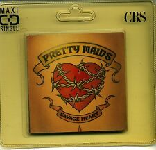 "PRETTY MAIDS Savage Heart 3"" CD-Single 1990 STILL SEALED"