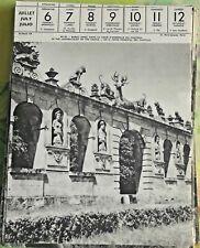 1957 RARAY Oise Dans la Cour d'Honneur du Château,The Grand-Court Of The Castle