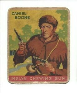 1933 Goudey Indian Gum - Daniel Boone (#50)