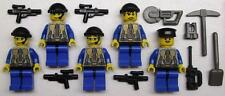5 LEGO ARMY SOLDIERS MINIFIGS LOT figures men halo SWAT TEAM life on mars LOM