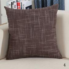 """Vintage Plain Decorative Cotton Line Sofa Throw Pilow Case Cushion Cover 22X22"""""""