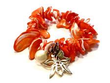 Bijou bracelet créateur nacre Dyrberg Kern bangle