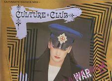 """CULTURE CLUB, THE WAR SONG / LA CANCION DE GUERRA 1984 12""""x45rpm MAXI SINGLE NMC"""