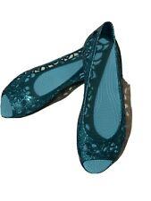 Crocs isabella Blue Open Toe Shoes Size 39
