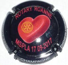 Capsule de Champagne : New !  Herbert Didier ROTARY ROANNE  , MSPLA 17-09-2017 !