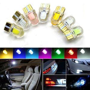 10x Bright 12V T10 192 COB 8SMD LED Liscense Plate Light Bulbs Car Signal lights