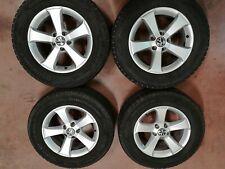 Cerchi lega originali VW TIGUAN 6,5x16 et33 5x112 + gomme 215/65r16 Continental
