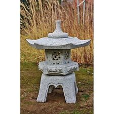 GRANIT LATERNE YUKIMI für den GARTEN KOI TEICH zur DEKORATION, NEU, GSLL-003-3