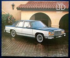 Prospekt brochure 1980 Ford LTD (USA)