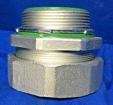 "Appleton STB-300 3"" Straight Liquid tight Connector Mall Iron # 200857 CAB B"