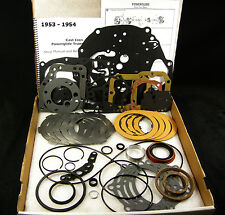 1953 - 1954 Cast Iron Powerglide Transmission Overhaul Parts Rebuild Kit