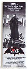 Love at First Bite FRIDGE MAGNET (1.5 x 4.5 inches) insert movie poster vampire