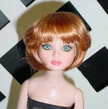 "DOLL Wig Monique ""Doris"" Size 6/7 - LIGHT GINGER fits Ellowyne (Blended)"