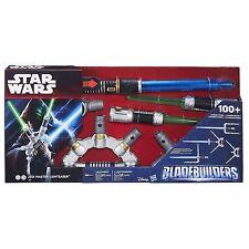 STAR WARS BLADEBUILDERS JEDI MASTER LIGHTSABER BRAND NEW IN BOX LIGHTS & SOUNDS