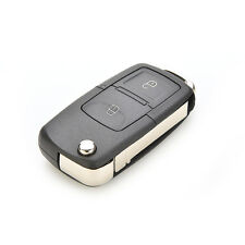 2 Button Folding Car Remote Flip Key Shell Cover For VW GOLF MK4 BORA Uncut HH