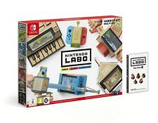 Nintendo Switch Labo Robot Kit and Variety Kit New and Sealed. In stock now