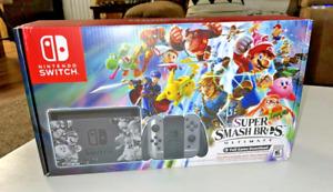 Nintendo Switch Super Smash Bros Ultimate Edition Console BRAND NEW 🔥 🔥 🔥